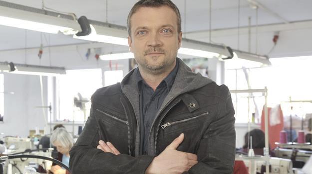 Sebastian Wątroba już po raz trzeci ścigał się za kierownicą kosiarki /Niemiec /AKPA