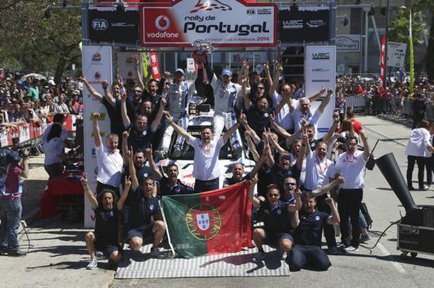 Sebastien Ogier po raz 4 najszybszy w Portugalii /