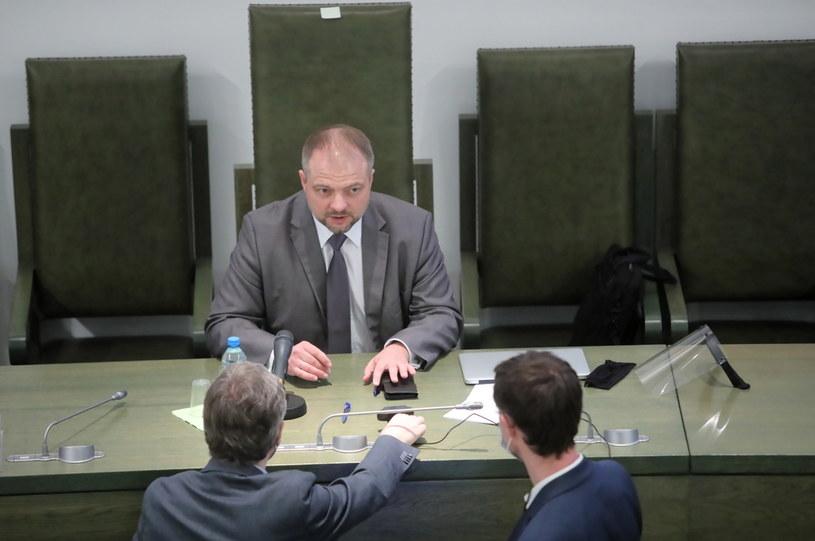 Sędzia Aleksander Stępkowski podczas posiedzenia Zgromadzenia Ogólnego Sędziów Sądu Najwyższego /Wojciech Olkuśnik /PAP