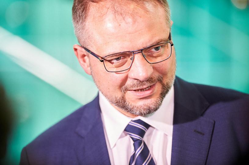 Sędzia Aleksander Stępkowski /Lukasz Szelag /Reporter