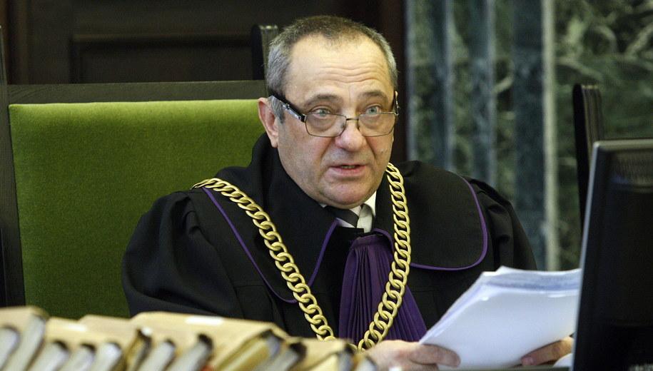 Sędzia Dariusz Czajkowski /Artur Reszko /PAP