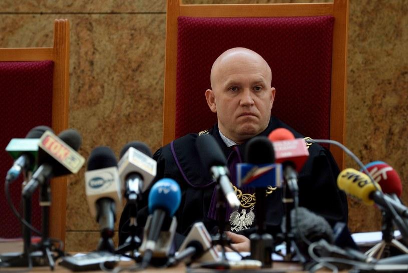 Sędzia Dariusz Mazur uzasadnia wyrok, 30.10.2015 /AFP