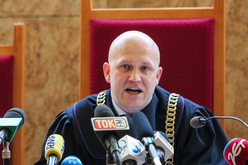 Sędzia Dariusz Mazur /Jan Graczyński /East News