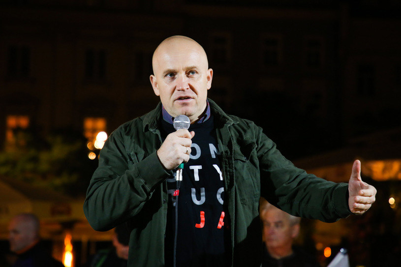Sędzia Dariusz Mazur /Beata Zawrzel /Reporter
