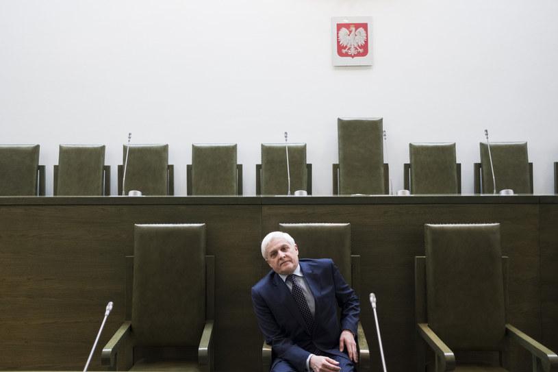 Sędzia Dariusz Zawistowski /Andrzej Hulimka  /Reporter