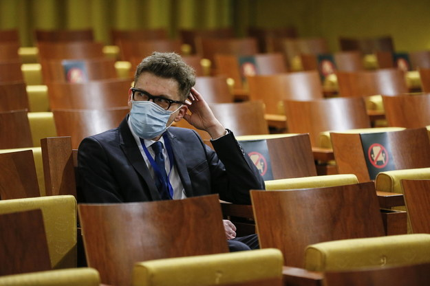 Sędzia Igor Tuleya w Europejskim Trybunale Sprawiedliwości w Luksemburgu /JULIEN WARNAND /PAP/EPA