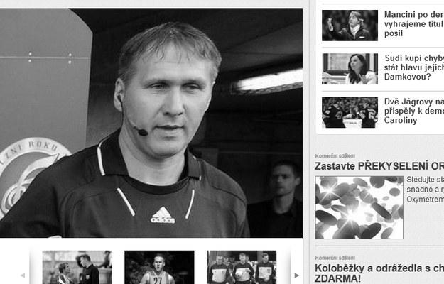 Sędzia Josef Kosec / fot. http://isport.blesk.cz /Internet