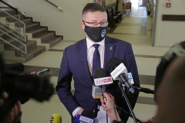 Sędzia Juszczyszyn stawił się w sądzie. Został niedopuszczony do orzekania