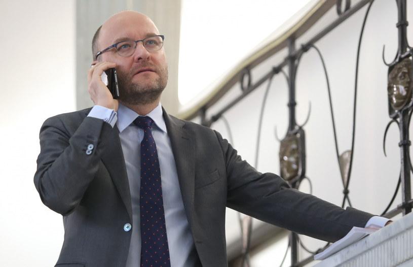 Sędzia Kamil Zaradkiewicz /Stefan Maszewski /Reporter