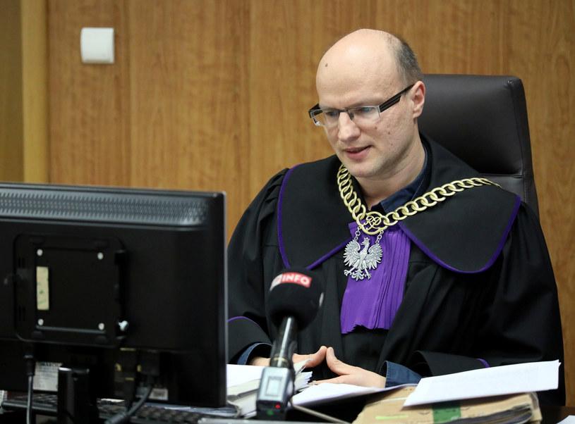 Sędzia Krzysztof Świderski /Piotr Molecki /East News