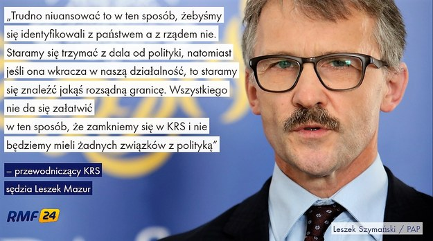 Sędzia Leszek Mazur /RMF FM
