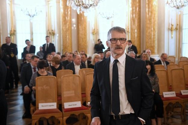 Sędzia Leszek Mazur / Radek Pietruszka   /PAP