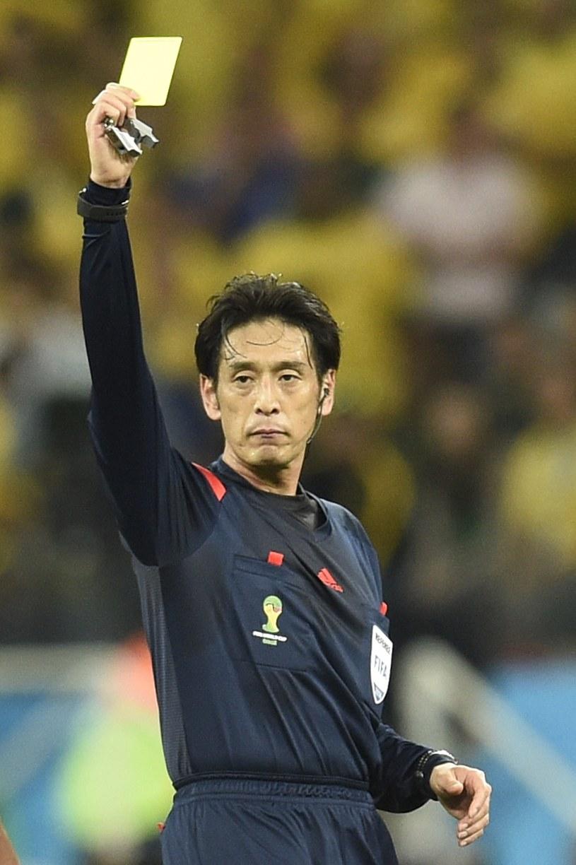Sędzia meczu otwarcia mistrzostw świata w Brazylii Yuichi Nishimura /AFP