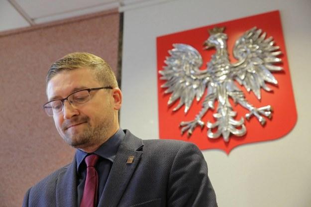 Sędzia Paweł Juszczyszyn /Tomasz Waszczuk /PAP