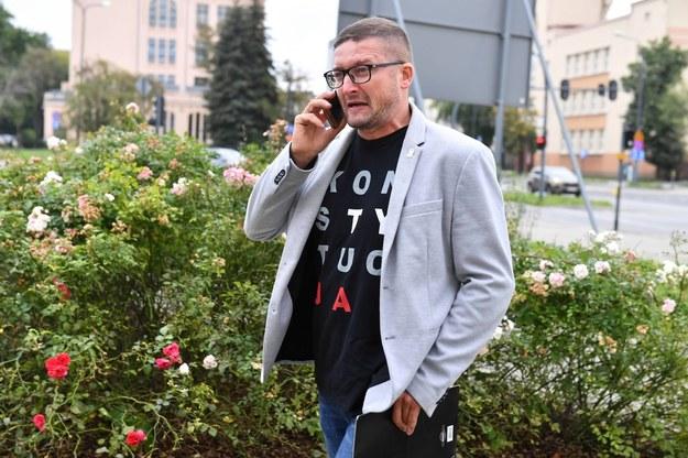 Sędzia Paweł Juszczyszyn /Grzegorz Michałowski /PAP