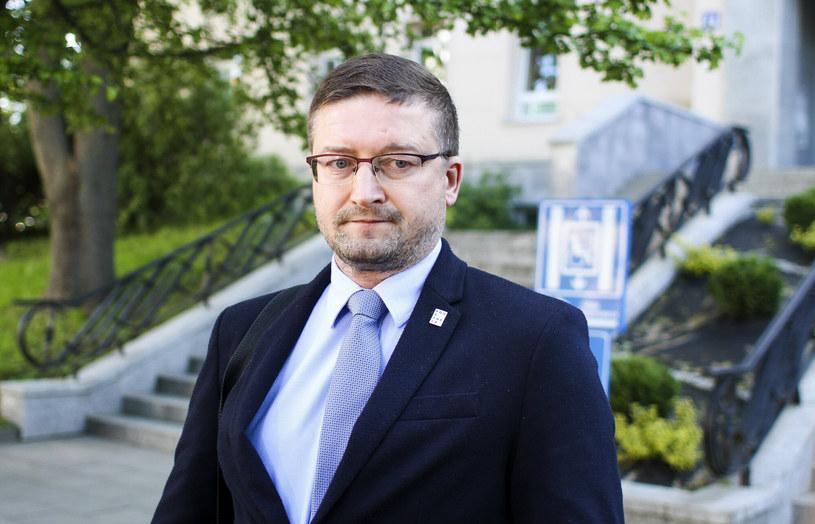 Sędzia Paweł Juszczyszyn /Artur Szczepanski/REPORTER /East News