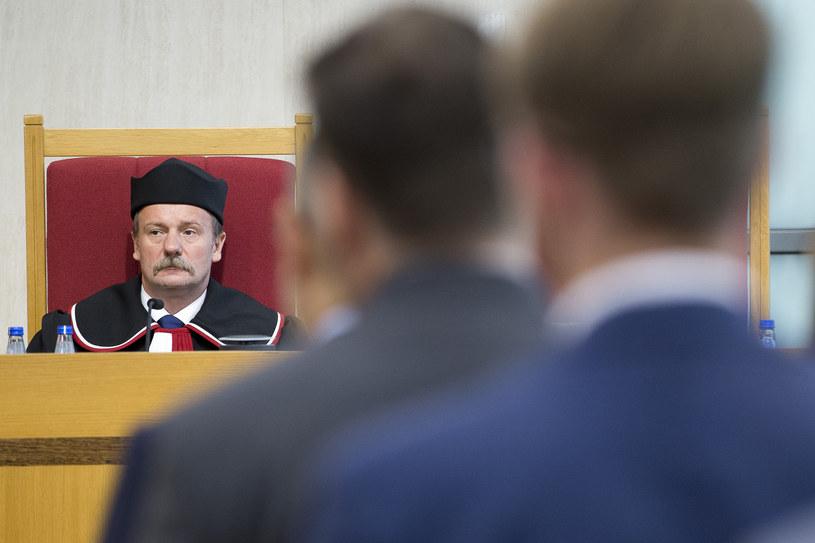 Sędzia Piotr Pszczółkowski /Andrzej Iwańczuk/Reporter /Reporter