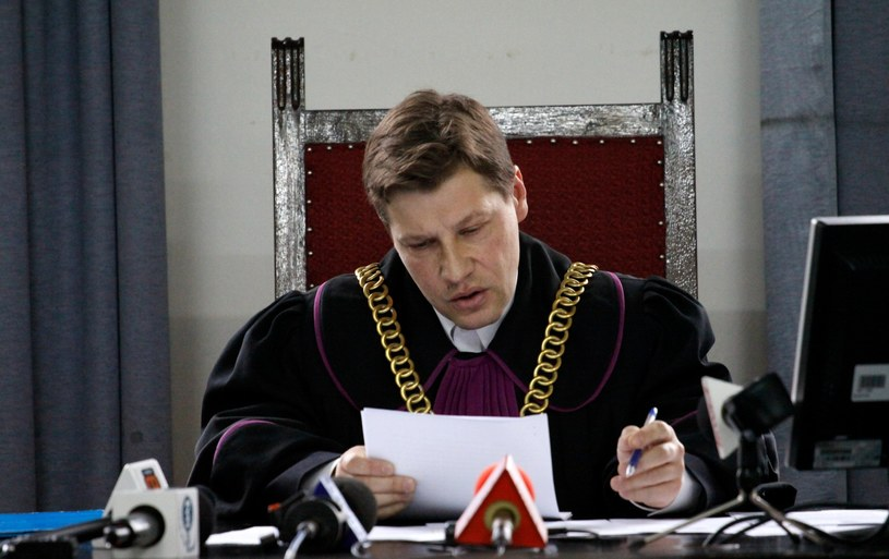Sędzia Piotr Schab /Adam Guz /Reporter