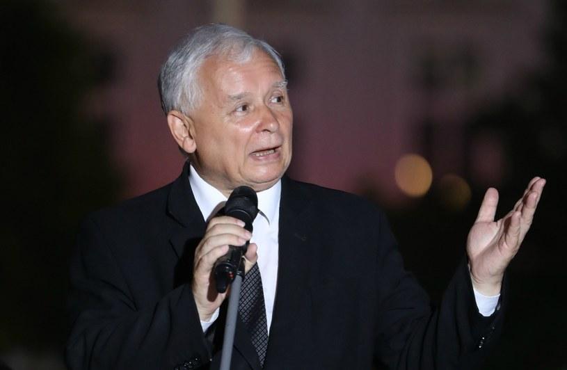 Sędzia porównał Jarosława Kaczyńskiego do Adolfa Hitlera /Radek Pietruszka /PAP