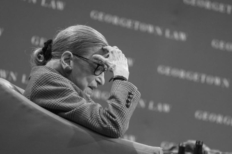 Sędzia Ruth Bader Ginsburg /AFP