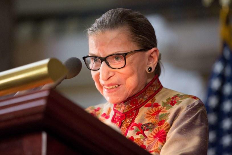 Sędzia Sądu Najwyższego Ruth Bader Ginsburg /GETTY IMAGES NORTH AMERICA Allison Shelley /AFP