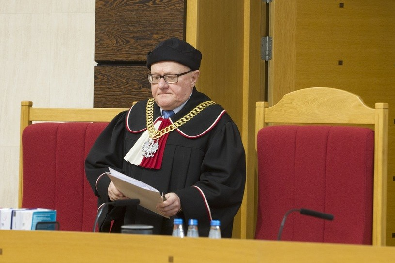 Sędzia Stanisław Biernat, wiceprezes TK /Wojciech Olkuśnik /East News
