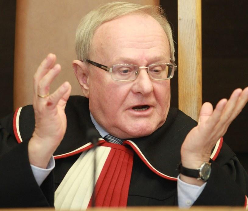 Sędzia Stanisław Biernat /STANISLAW KOWALCZUK /East News