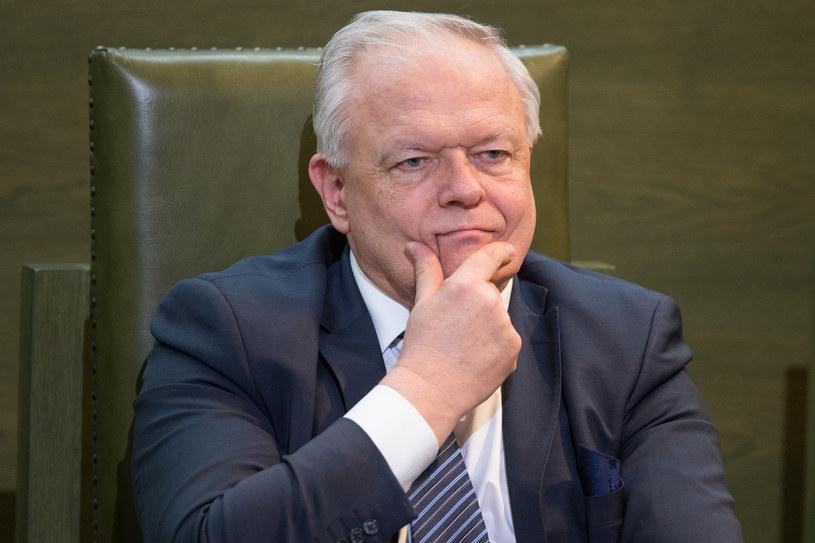 Sędzia Stanisław Zabłocki /Tomasz Jastrzębowski /Reporter