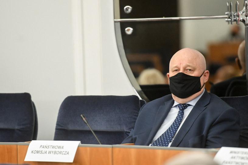 Sędzia Sylwester Marciniak, przewodniczący PKW /Jacek Dominski/REPORTER /Reporter
