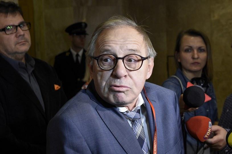 Sędzia Trybunału Konstytucyjnego prof. Lech Morawski /Jacek Domiński /East News