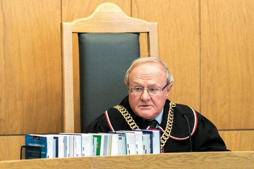Sędzia Trybunału Konstytucyjnego Stanisław Biernat /Bartosz Bobkowski /Agencja Gazeta/ x-news