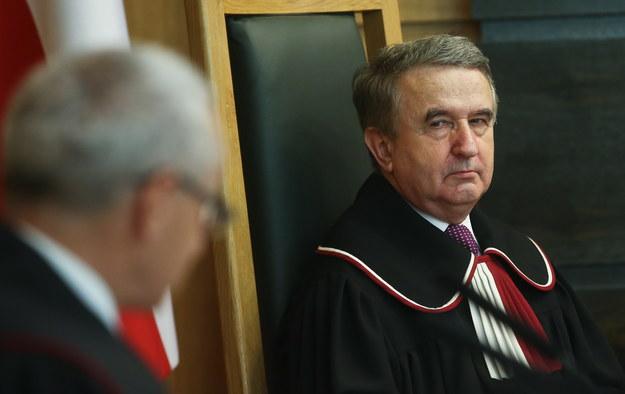 Sędzia Trybunału Kontytucyjnego, sprawozdawca Leon Kieres /Rafał  Guz /PAP