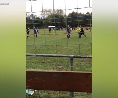Sędzia w Niemczech został znokautowany przez zawodnika za czerwoną kartkę. Wideo