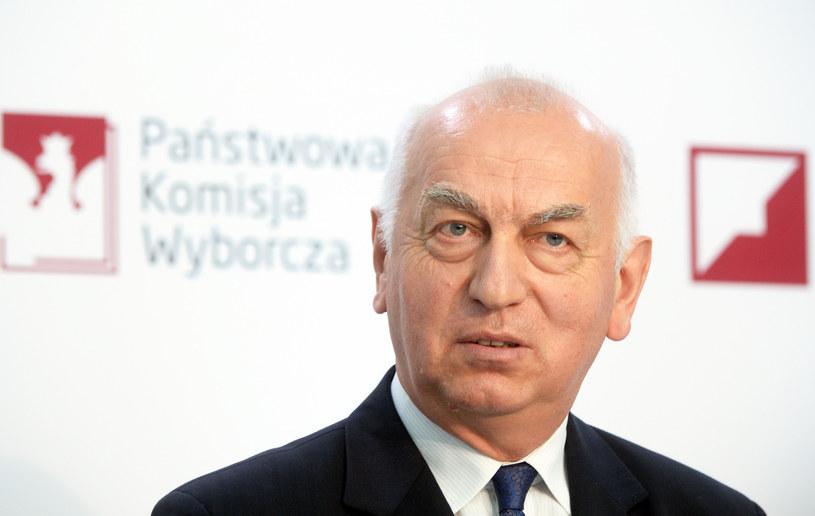Sędzia Wiesław Kozielewicz, przewodniczący Państwowej Komisji Wyborczej /Jan Bielecki /East News