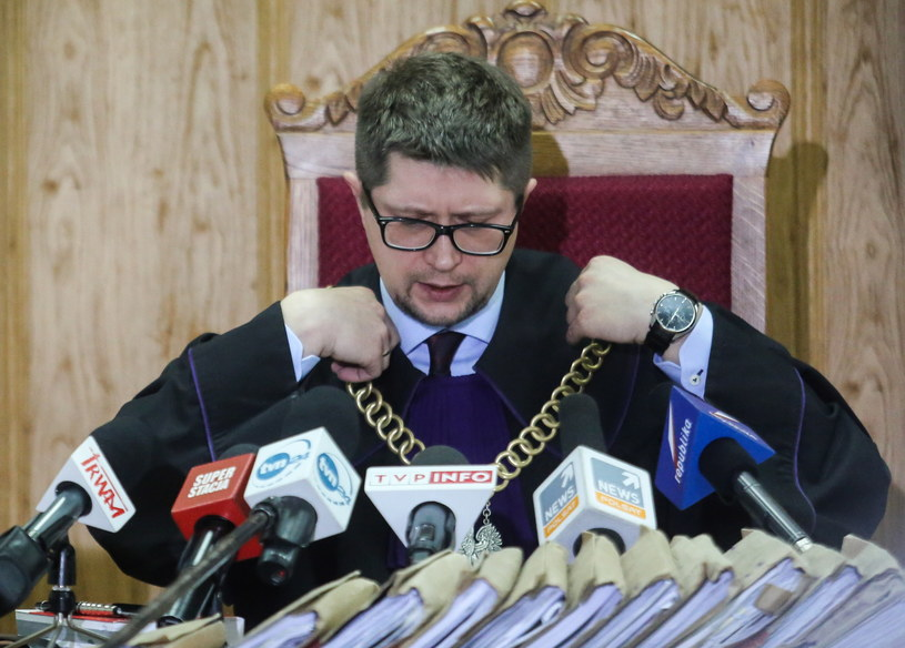 Sędzia Wojciech Łączewski /Leszek Szymański /PAP