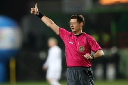 Sędzia Ż. uchodził za jednego z najlepszych w ekstraklasie. Fot. Piotr Kucza. /Agencja Przegląd Sportowy
