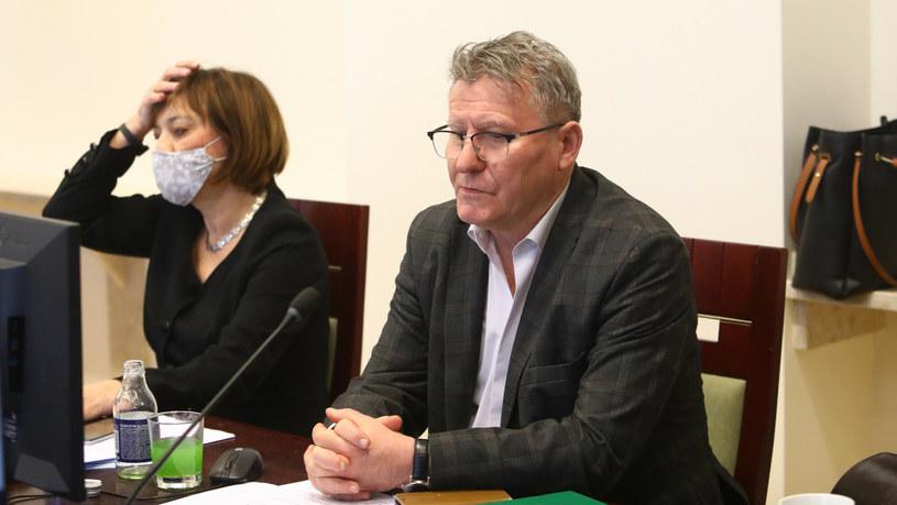 Sędzia Zbigniew Łupina podczas posiedzenia KRS /Tomasz Jastrzębowski /Reporter