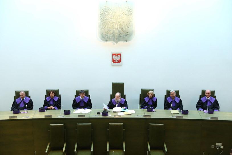 Sędziowie podczas rozprawy w Izbie Pracy i Ubezpieczeń Społecznych Sądu Najwyższego w Warszawie /Rafał Guz /PAP