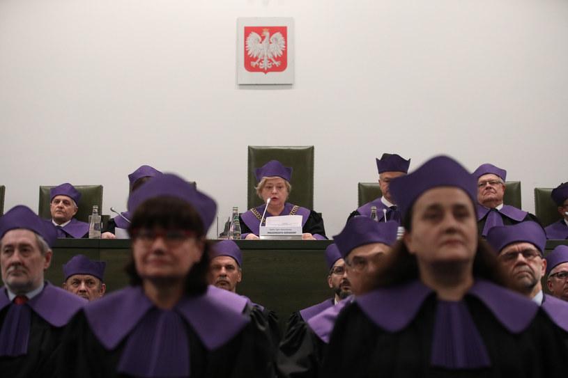Sędziowie Sądu Najwyższego /fot. Andrzej Iwanczuk/REPORTER /Reporter