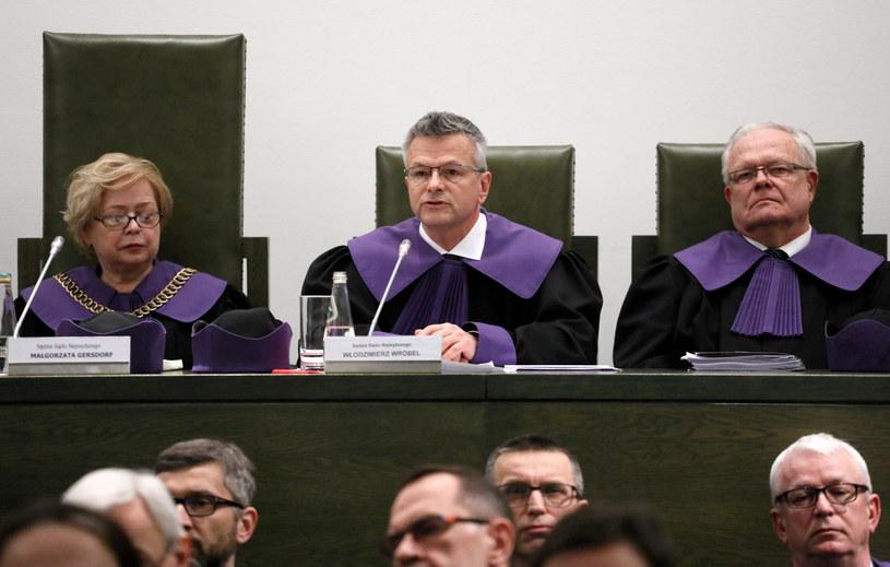 Sędziowie Sądu Najwyższego /Jakub Kaminski/East News /East News