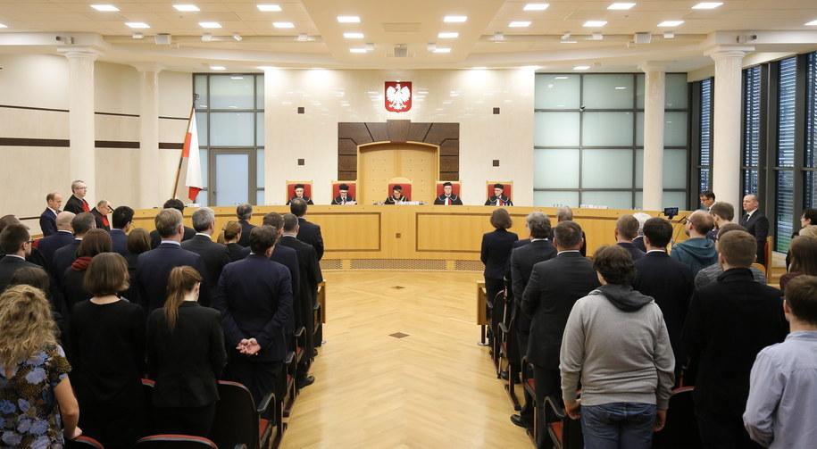 Sędziowie TK, 3 grudnia /Paweł Supernak /PAP