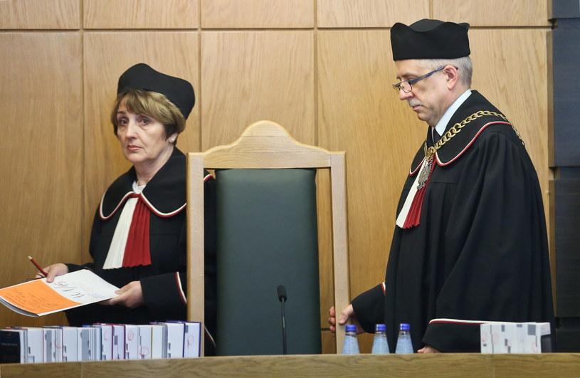 Sędziowie TK:  Piotr Tuleja i  Małgorzata Pyziak-Szafnicka, zdj. ilustracyjne /Rafał Guz /PAP