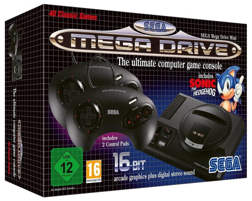 SEGA Mega Drive Mini /materiały prasowe