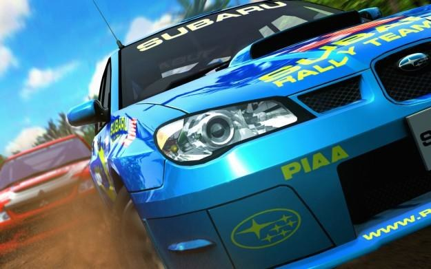 SEGA Rally - motyw graficzny /Informacja prasowa