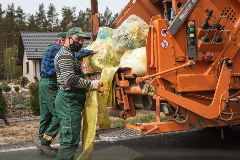 Segregacja odpadów nie jest naszą najlepszą stroną /Fot. Piotr Dziurman/REPORTER /Reporter