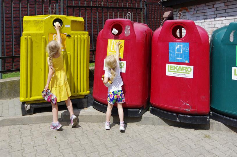 Segregacja śmieci; zdj. ilustracyjne /Marek Bazak /East News