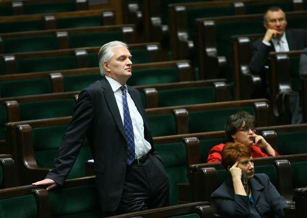 Sejm albo zobaczymy - mówi Gowin, który do Senatu startować nie chce, fot. J. Waszkiewicz /Reporter