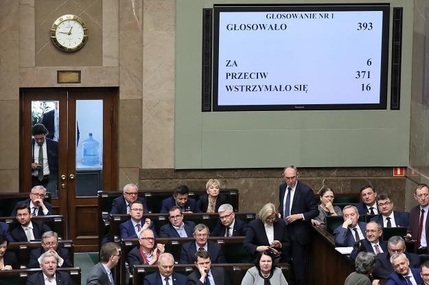 """Sejm jest przychylny projektowi """"Emerytura plus"""" /PAP"""