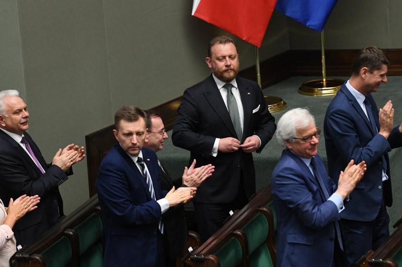 Sejm odrzucił wniosek o wotum nieufności wobec ministra zdrowia Łukasza Szumowskiego. /Jacek Dominski/ /Reporter