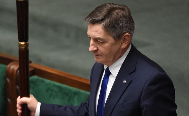 Sejm podjął decyzję w sprawie marszałka Kuchcińskiego